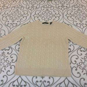 100% 2-Ply Cashmere Spring Sweater Lord & Taylor